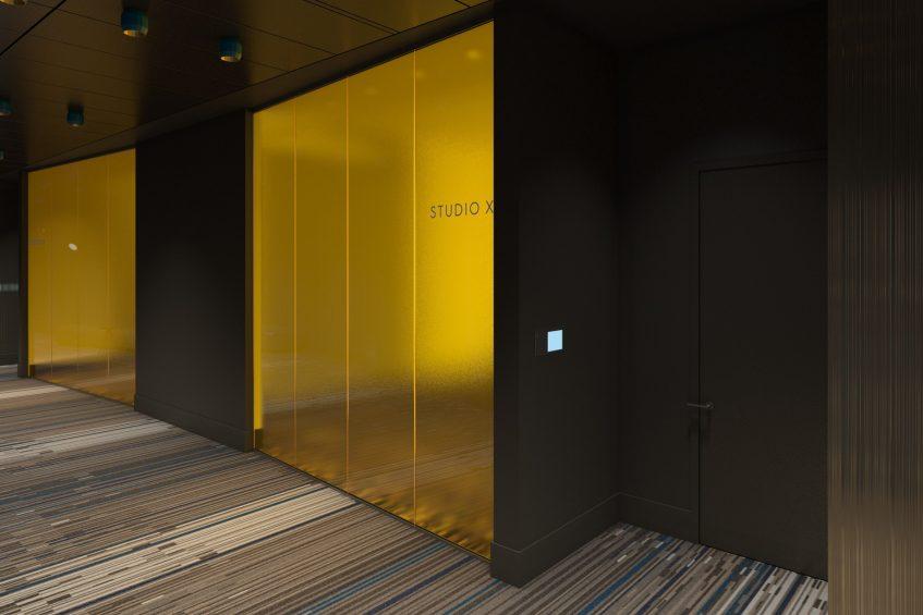 W Philadelphia Luxury Hotel - Philadelphia, PA, USA - Meeting Room Studio