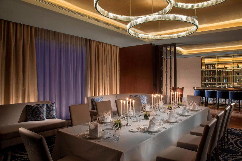 The St. Regis Astana Luxury Hotel - Astana, Kazakhstan - Barys VIP lounge Private Dining