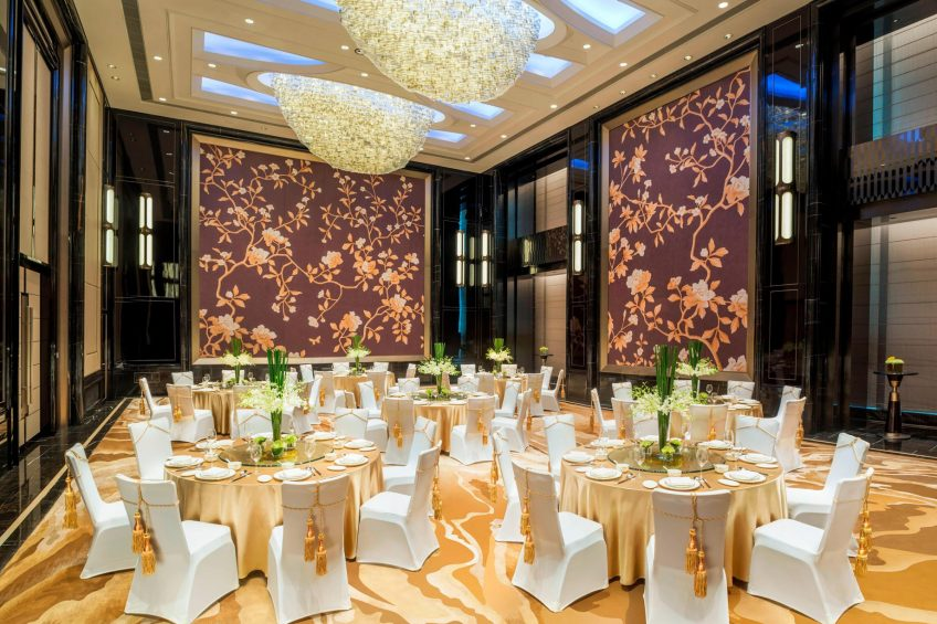 The St. Regis Changsha Luxury Hotel - Changsha, China - Astor Room Banquet