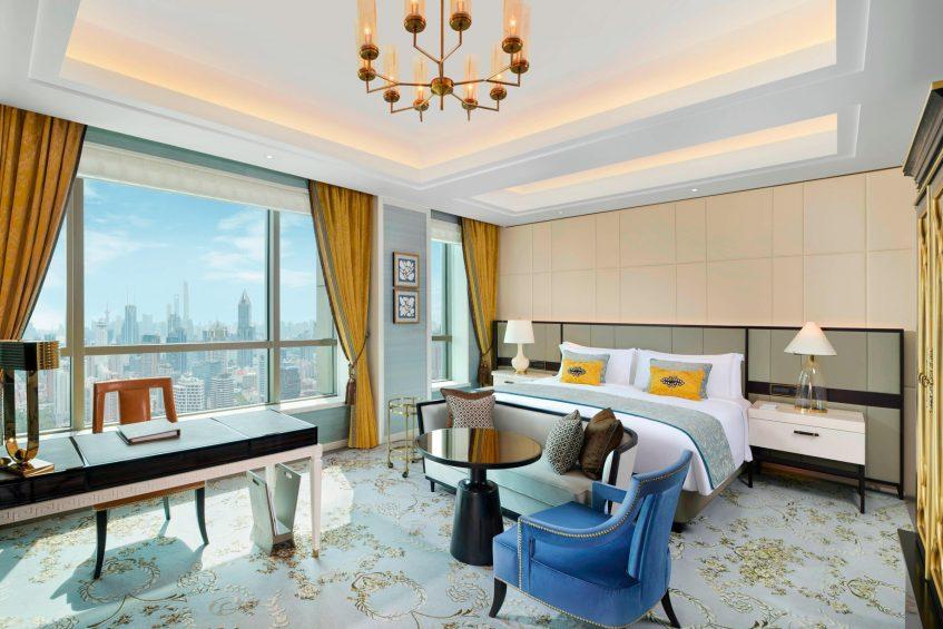 The St. Regis Shanghai Jingan Luxury Hotel - Shanghai, China - Executive Skyline Deluxe Room
