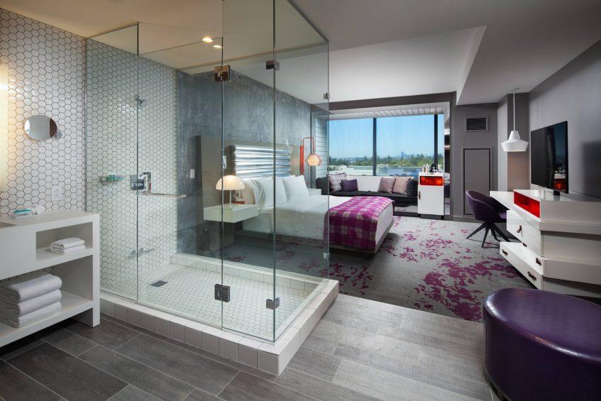 W Bellevue Luxury Hotel - Bellevue, WA, USA - Cozy King Guest Room