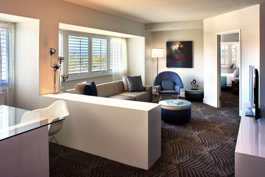 W Los Angeles West Beverly Hills Luxury Hotel - Los Angeles, CA, USA - Mega Suite