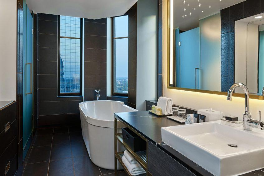 W Minneapolis The Foshay Luxury Hotel - Minneapolis, MN, USA - Extreme Wow Suite Master Bathroom