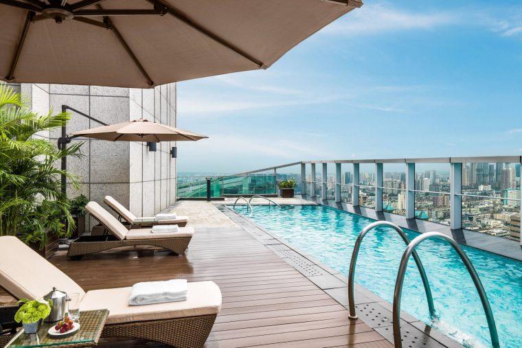 The St. Regis Chengdu Luxury Hotel - Chengdu, Sichuan, China - Presidential Suite Swimming Pool