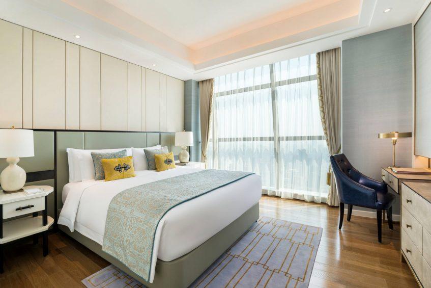 The St. Regis Shanghai Jingan Luxury Hotel - Shanghai, China - Guest Room King
