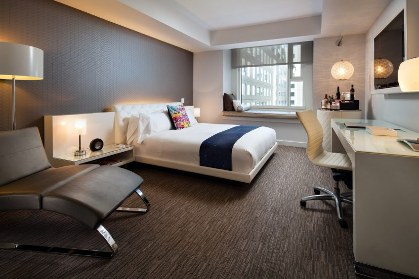 W Hollywood Luxury Hotel - Hollywood, CA, USA - Spectacular Guest Room