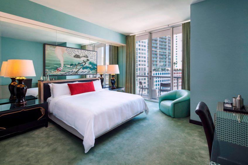 W Miami Luxury Hotel - Miami, FL, USA - Wonderful King Guest Room