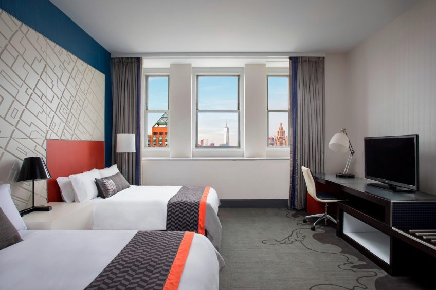 W New York Union Square Luxury Hotel - New York, NY, USA - Fabulous Guest Room
