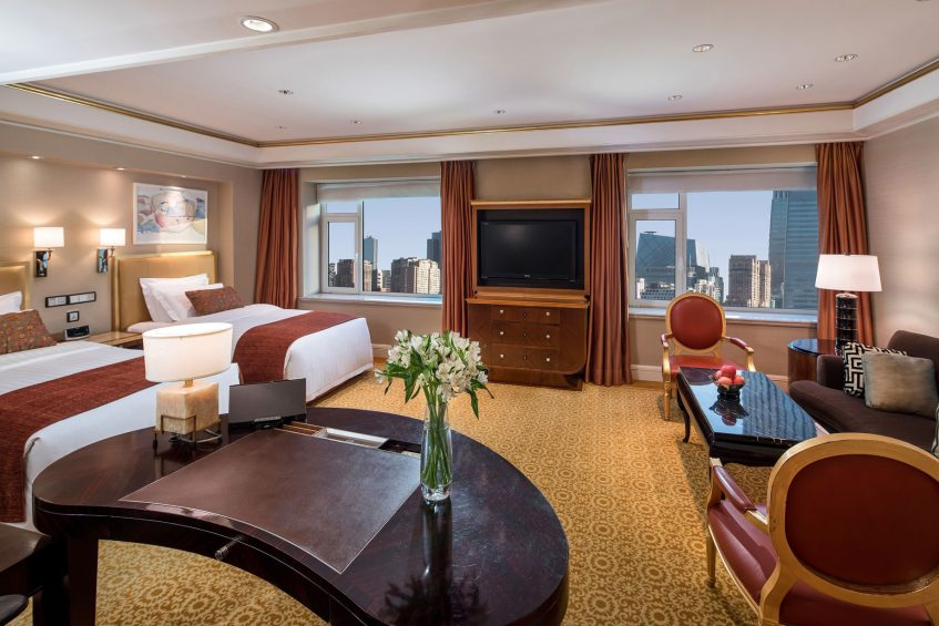 The St. Regis Beijing Luxury Hotel - Beijing, China - Deluxe Room Twin