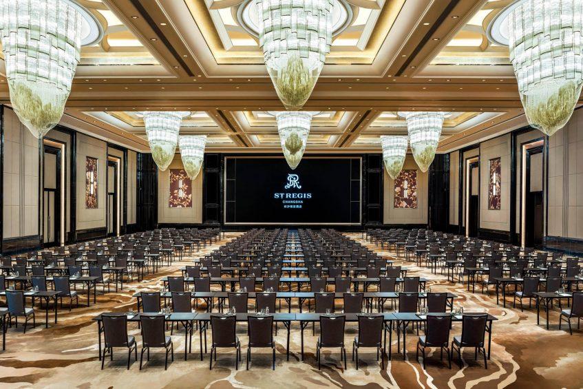 The St. Regis Changsha Luxury Hotel - Changsha, China - Grand Ballroom Classroom