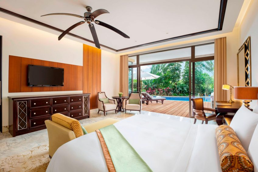 The St. Regis Sanya Yalong Bay Luxury Resort - Hainan, China - Lagoon Room