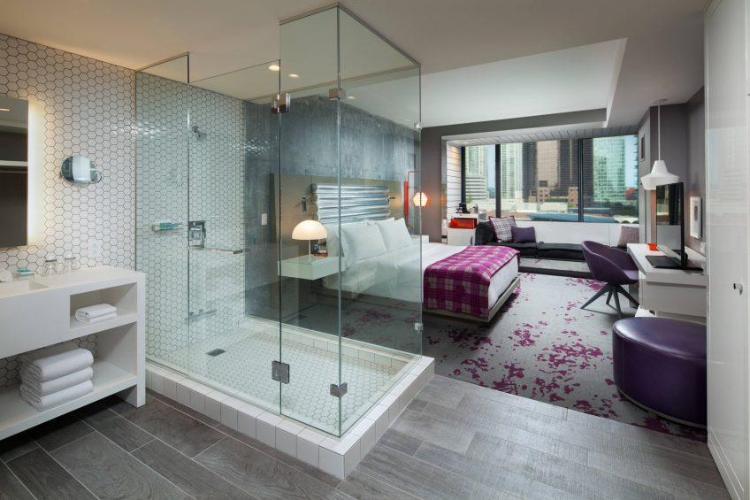 W Bellevue Luxury Hotel - Bellevue, WA, USA - Wonderful King Guest Room