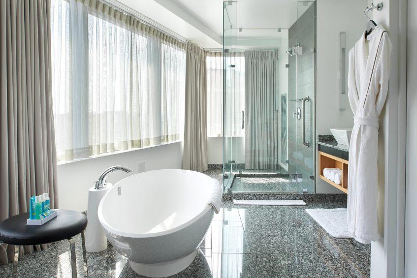 W Boston Luxury Hotel - Boston, MA, USA - Extreme WOW Suite Bathroom