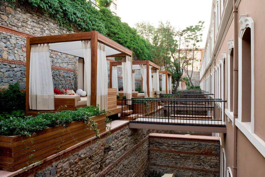 W Istanbul Luxury Hotel - Istanbul, Turkey - Marvelous Room Cabanas
