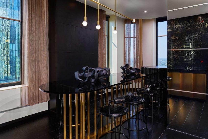 W Minneapolis The Foshay Luxury Hotel - Minneapolis, MN, USA - Extreme Wow Suite Dining Room