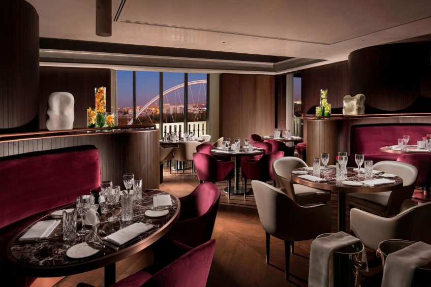 The St. Regis Astana Luxury Hotel - Astana, Kazakhstan - The Grill