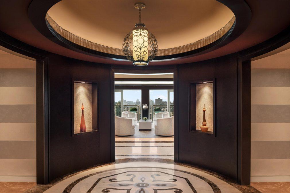 The St. Regis Cairo Luxury Hotel - Cairo, Egypt - Royal Suite Entrance