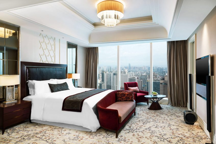 The St. Regis Chengdu Luxury Hotel - Chengdu, Sichuan, China - Governor Suite Guest Room