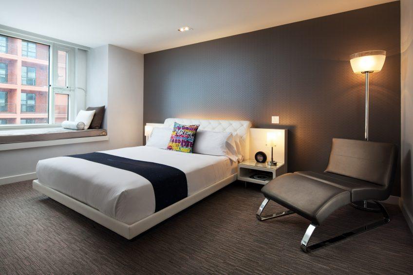 W Hollywood Luxury Hotel - Hollywood, CA, USA - Mega Suite King