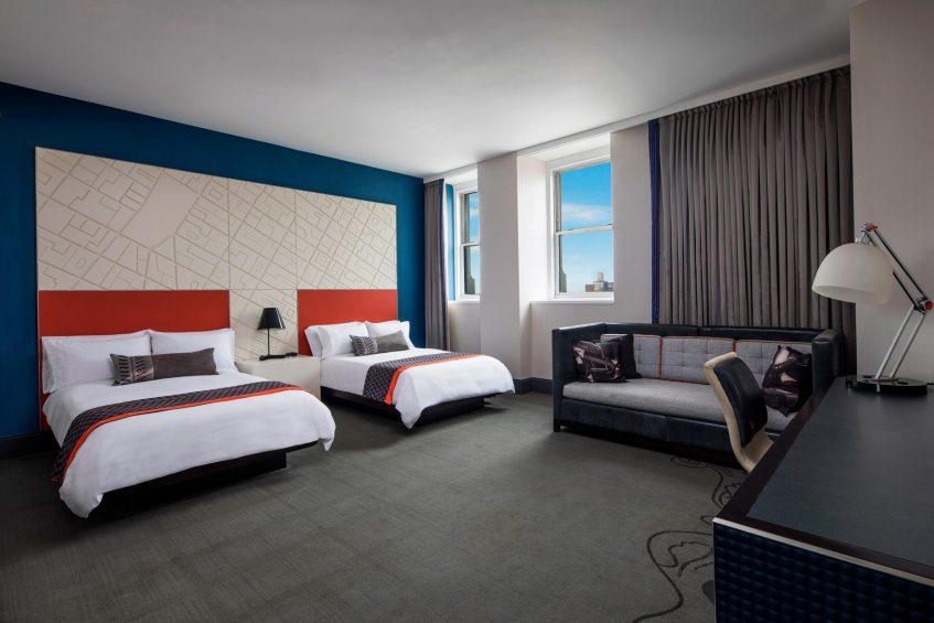 W New York Union Square Luxury Hotel - New York, NY, USA - Studio Suite Double