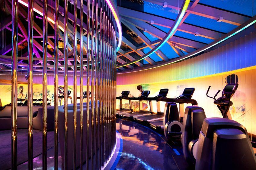 W San Francisco Luxury Hotel - San Francisco, CA, USA - FIT Gym Night