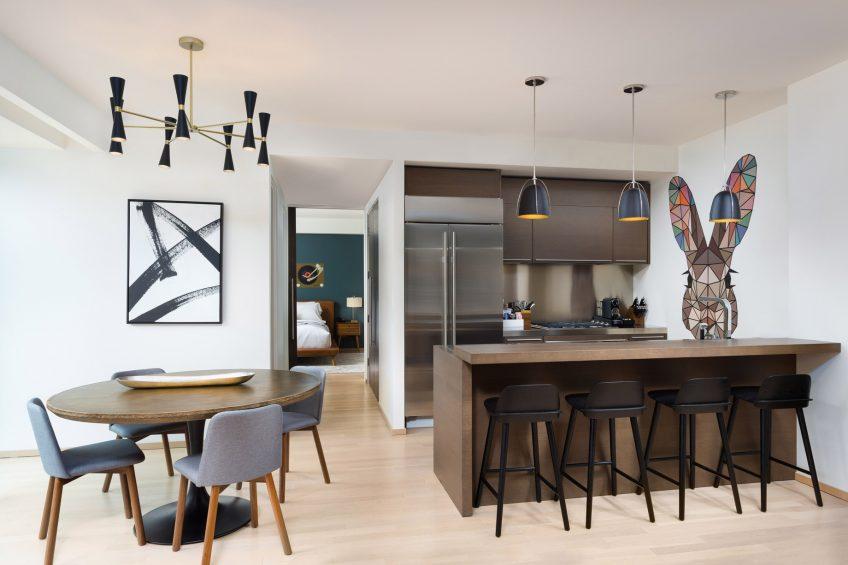W Scottsdale Luxury Hotel - Scottsdale, AZ, USA - Fantastic Suite Kitchen