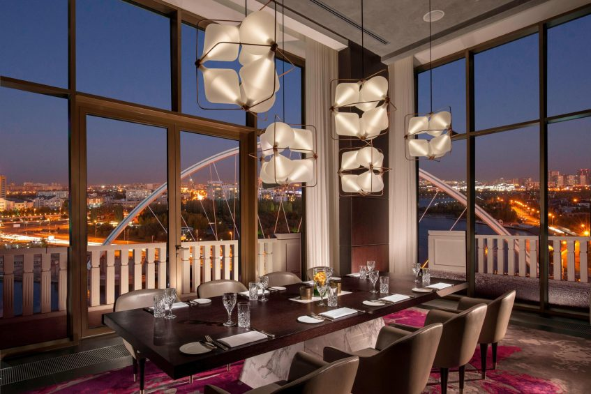The St. Regis Astana Luxury Hotel - Astana, Kazakhstan - The Grill Private Dining Room