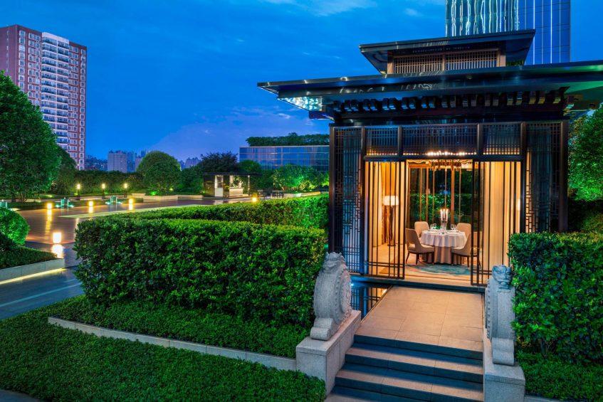 The St. Regis Changsha Luxury Hotel - Changsha, China - 6F Garden Night