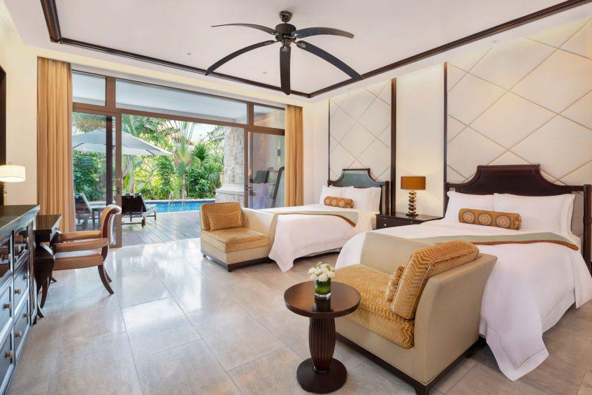 The St. Regis Sanya Yalong Bay Luxury Resort - Hainan, China - Lagoon Guest Room Queen