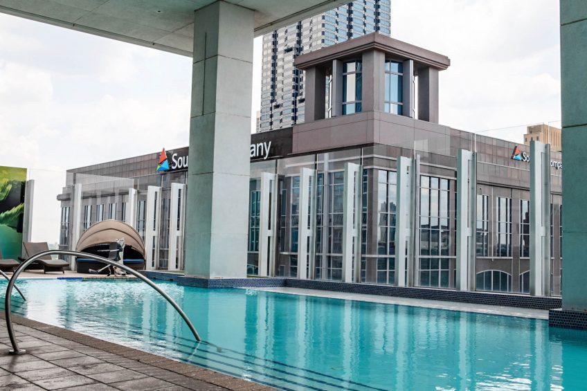 W Atlanta Downtown Luxury Hotel - Atlanta, Georgia, USA - WET Deck Pool