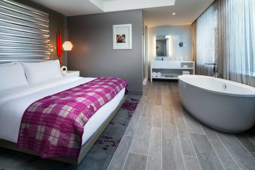 W Bellevue Luxury Hotel - Bellevue, WA, USA - Fantastic Suite Bedroom