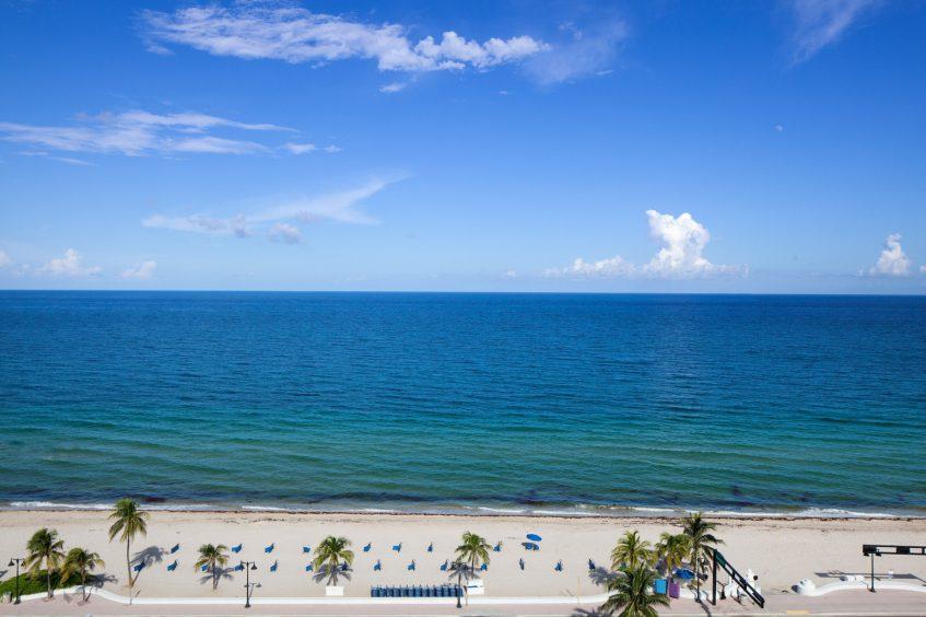 W Fort Lauderdale Luxury Hotel - Fort Lauderdale, FL, USA - Guest Room Ocean View
