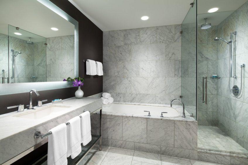 W Hollywood Luxury Hotel - Hollywood, CA, USA - Marvelous Suite Bathroom