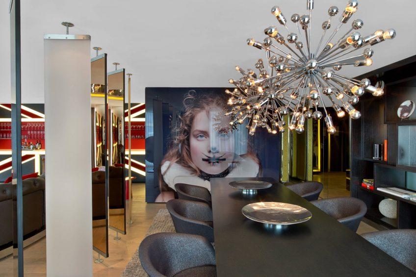 W London Luxury Hotel - London, United Kingdom - E WOW Dining Room