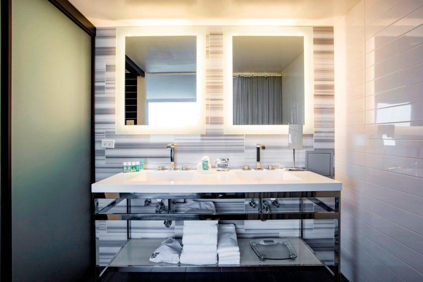 W Chicago Lakeshore Luxury Hotel - Chicago, IL, USA - Marvelous Suite Bathroom Vanity