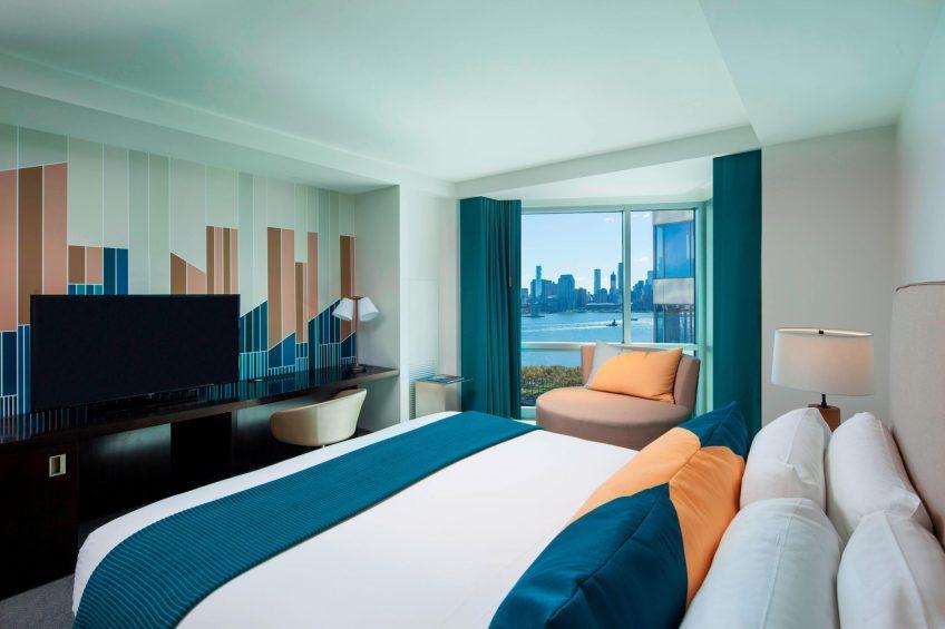 W Hoboken Luxury Hotel - Hoboken, NJ, USA - Wonderful King Guest Room