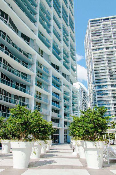W Miami Luxury Hotel - Miami, FL, USA - WET Deck Entrance