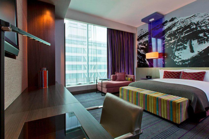 W Santiago Luxury Hotel - Santiago, Chile - Wonderful Guest Bedroom