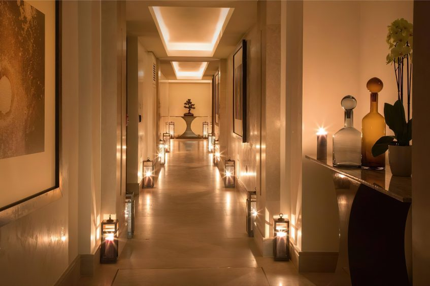The St. Regis Astana Luxury Hotel - Astana, Kazakhstan - Iridium Spa Hallway