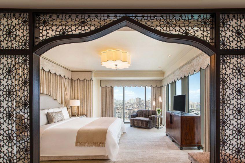 The St. Regis Cairo Luxury Hotel - Cairo, Egypt - Royal Suite Master Bedroom