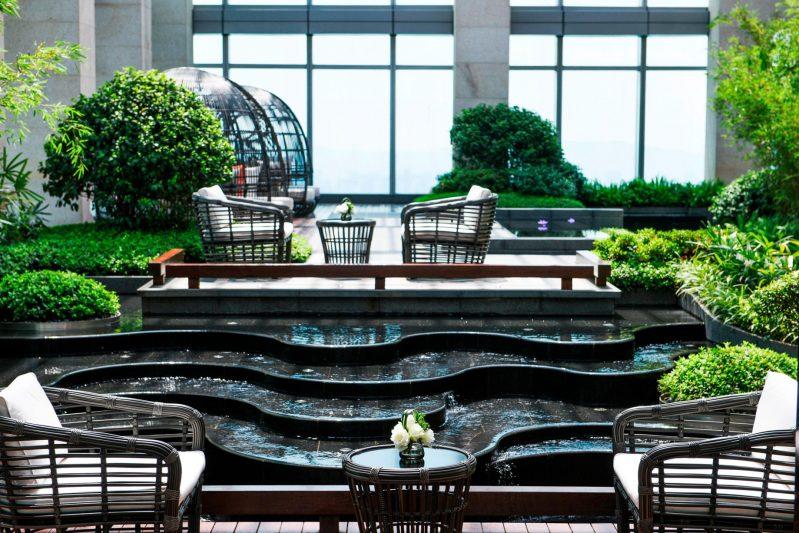 The St. Regis Changsha Luxury Hotel - Changsha, China - Cloud Garden