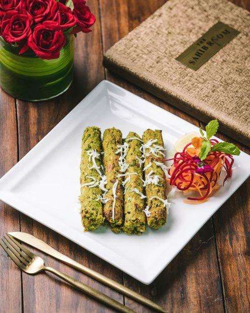 The St. Regis Mumbai Luxury Hotel - Mumbai, India - Delicious Shikampuri Kebab
