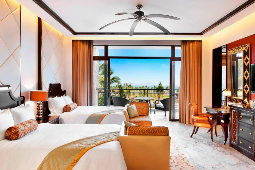 The St. Regis Sanya Yalong Bay Luxury Resort - Hainan, China - Ocean Breeze Guest Room