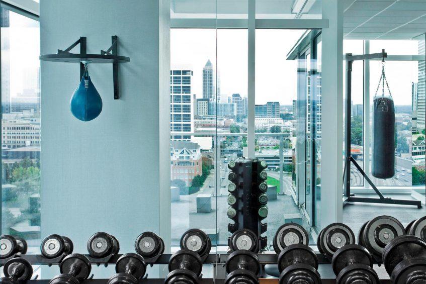 W Atlanta Downtown Luxury Hotel - Atlanta, Georgia, USA - FIT Fitness Center