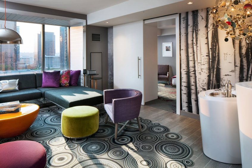 W Bellevue Luxury Hotel - Bellevue, WA, USA - Marvelous Suite