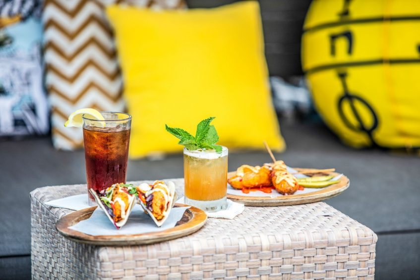 W New Orleans French Quarter Luxury Hotel - New Orleans, LA, USA - WET Deck Food and Beverage