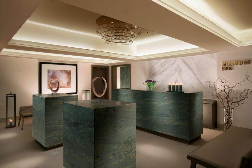 The St. Regis Astana Luxury Hotel - Astana, Kazakhstan - Iridium Spa Reception