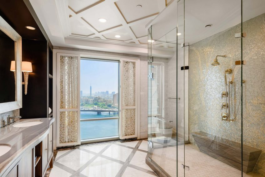 The St. Regis Cairo Luxury Hotel - Cairo, Egypt - Royal Suite Bathroom