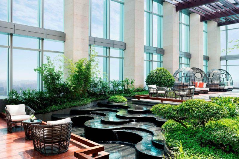 The St. Regis Changsha Luxury Hotel - Changsha, China - Cloud Garden Interior