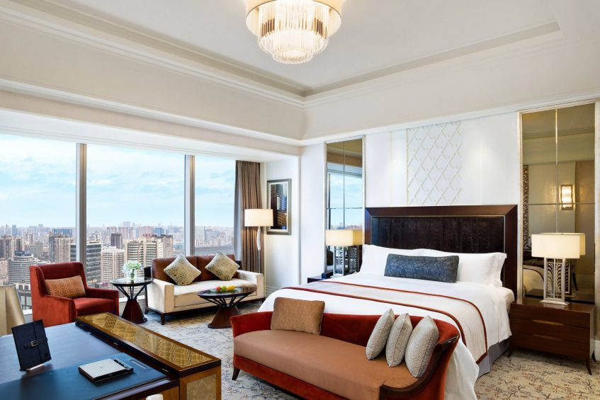 The St. Regis Chengdu Luxury Hotel - Chengdu, Sichuan, China - Grand Deluxe Room with City View